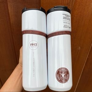 ✨🆕✨2x Starbucks Pike Place Insulated Hot Tumblers